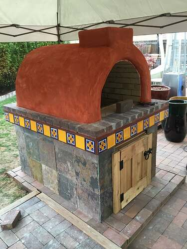 Homemade Outdoor Pizza Oven (43)