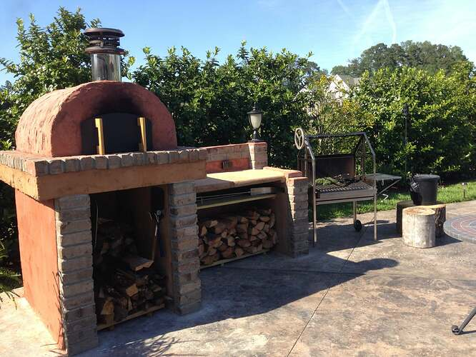 Build A BBQ And Pizza Oven