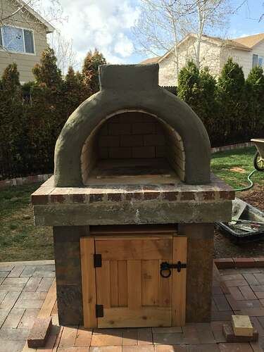 Homemade Outdoor Pizza Oven (37)