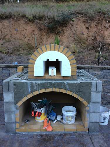 Pizza Oven Over Fireplace (6)