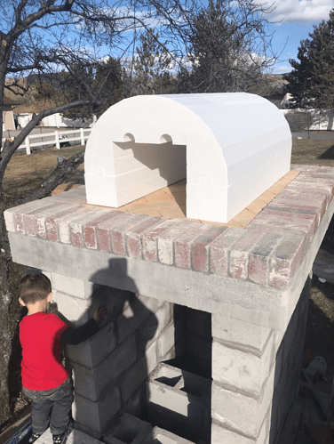 Pizza Oven Fireplace Combo (9)