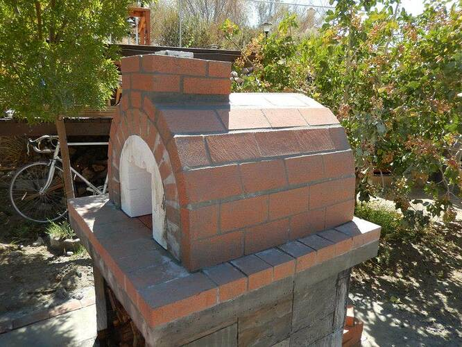 Build Your Own Brick Pizza Oven (21)