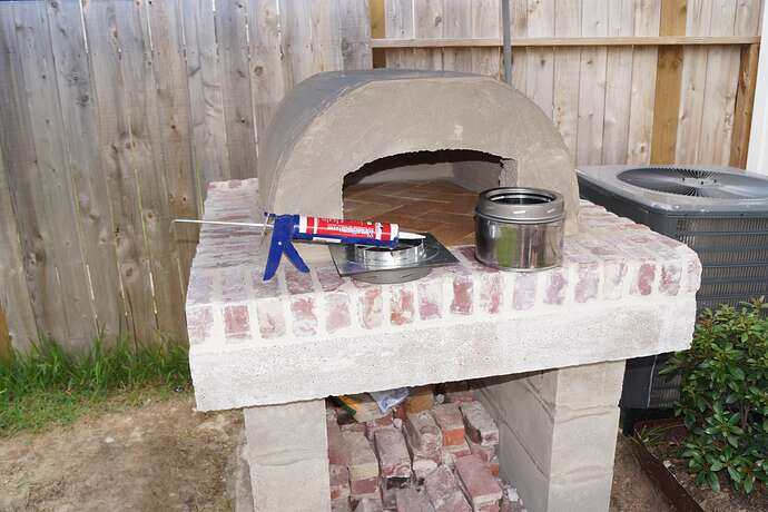 Refractory Cement Pizza Oven (93)