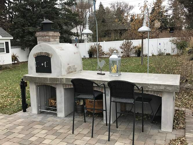 Building A Brick Pizza Oven From Scratch (1)
