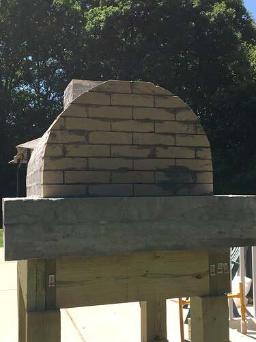 Building a Wood Fired Pizza Oven (23)