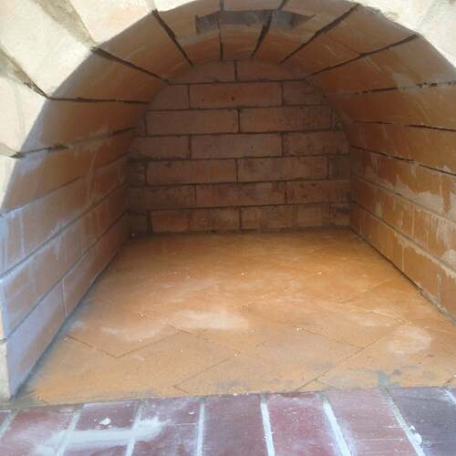 How To Build a Brick Pizza Oven (4)