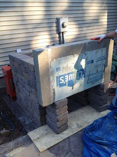 How To Build An Outdoor Brick Oven (45)