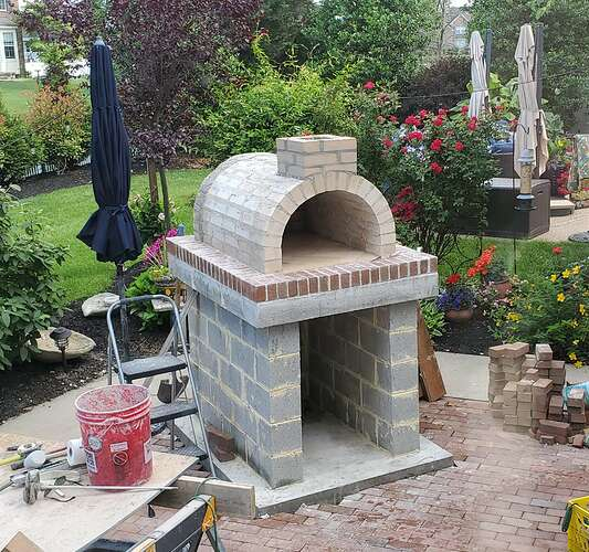 Home Wood Fired Pizza Oven (17)