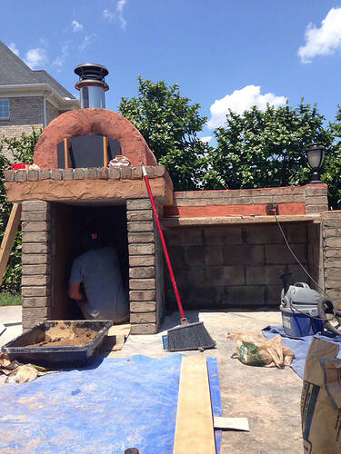 Build A BBQ And Pizza Oven (22)