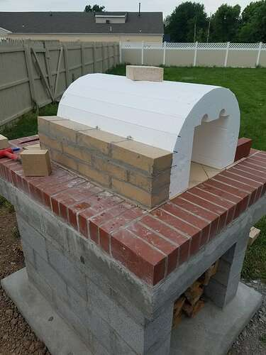 Making An Outdoor Oven (16)