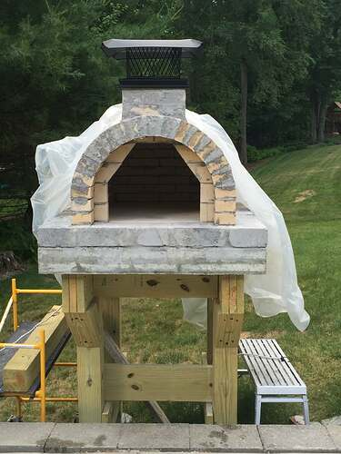Building a Wood Fired Pizza Oven (29)