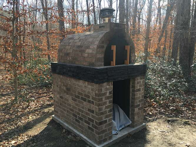 Wood Fired Brick Oven (135)