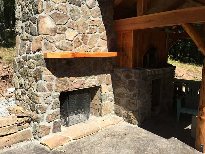 Outdoor Fireplace and Seating (34)