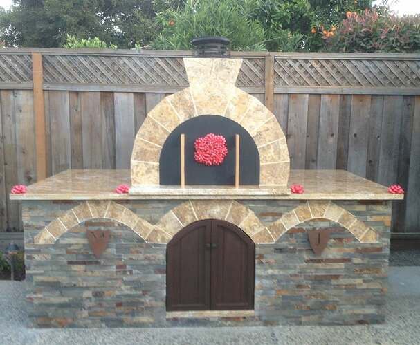 Outdoor Gas Pizza Oven (60)