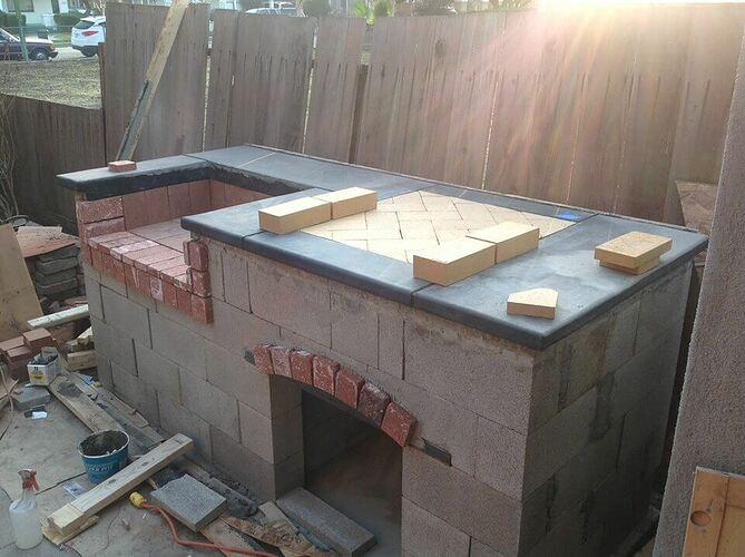 How To Build a Brick BBQ and Pizza Oven (6)