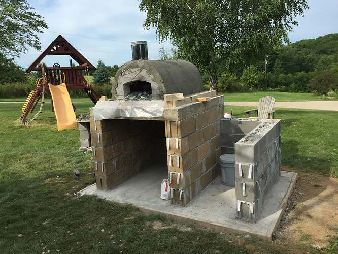 Build Your Own Outdoor Pizza Oven (22)