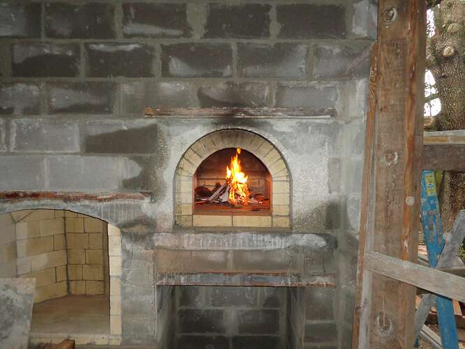 Outdoor Natural Stone Fireplace (18)
