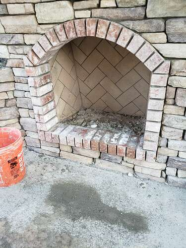 How To Build An Outdoor Fireplace (3)