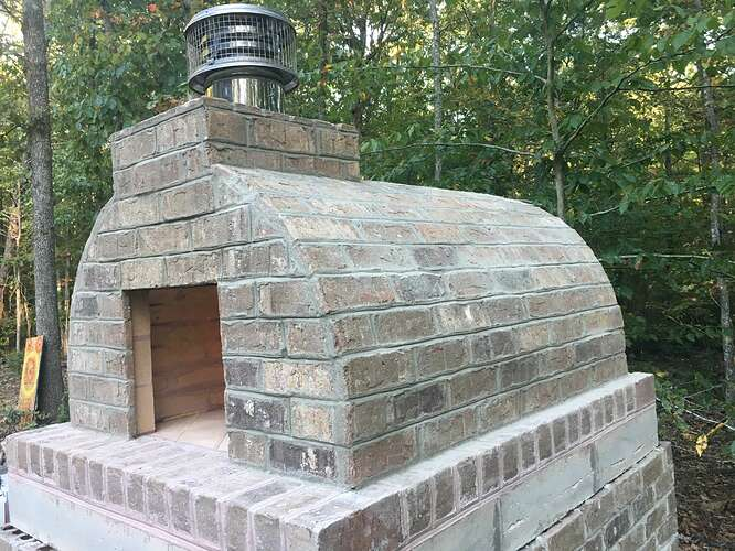 Wood Fired Brick Oven (107)