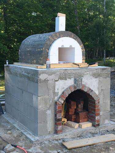 How To Build A Wood Fired Pizza Oven (44)