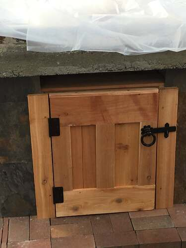 Homemade Outdoor Pizza Oven (49)