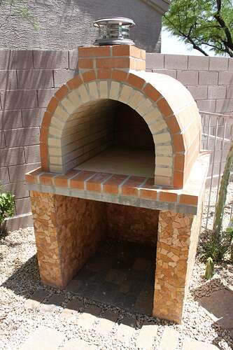 How To Build a Wood Fired Brick Oven (12)