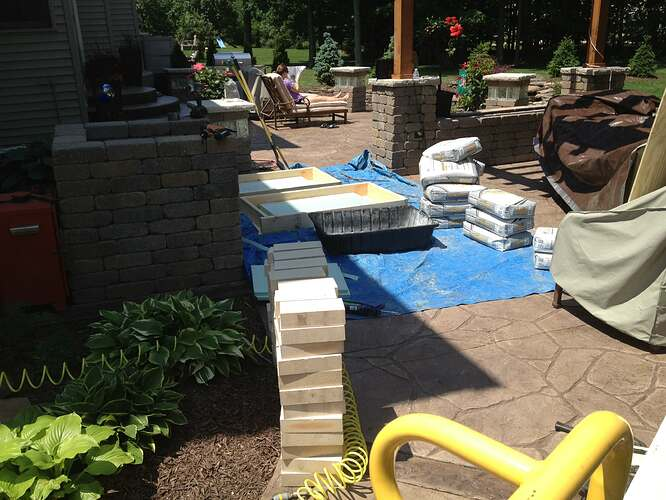 How To Build An Outdoor Brick Oven (21)