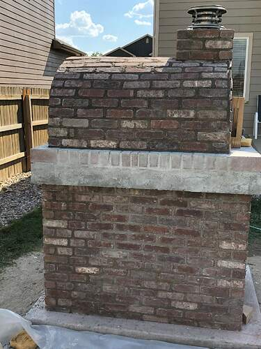 Building An Outdoor Wood Fired Oven (32)