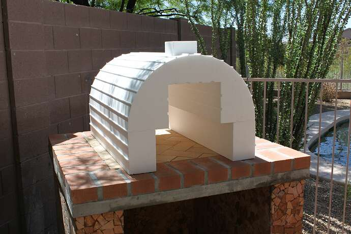 How To Build a Wood Fired Brick Oven (5)