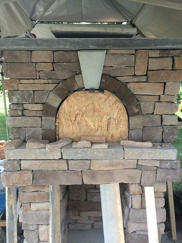 Making An Outdoor Pizza Oven (29)