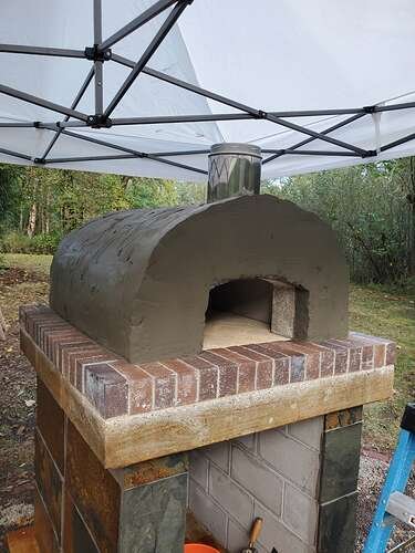 Outdoor Wood Burning Pizza Oven (21)