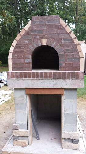 How To Make An Outdoor Pizza Oven (65)