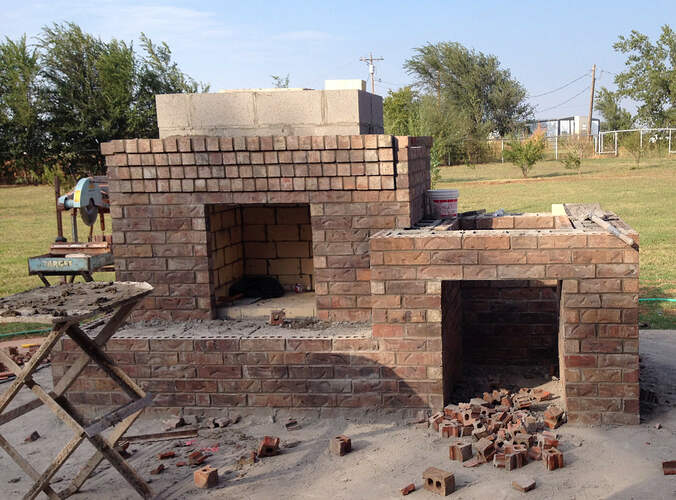 Large Outdoor Fireplace (5)