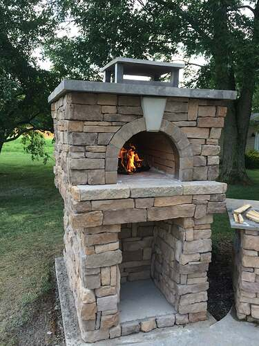 Making An Outdoor Pizza Oven (35)