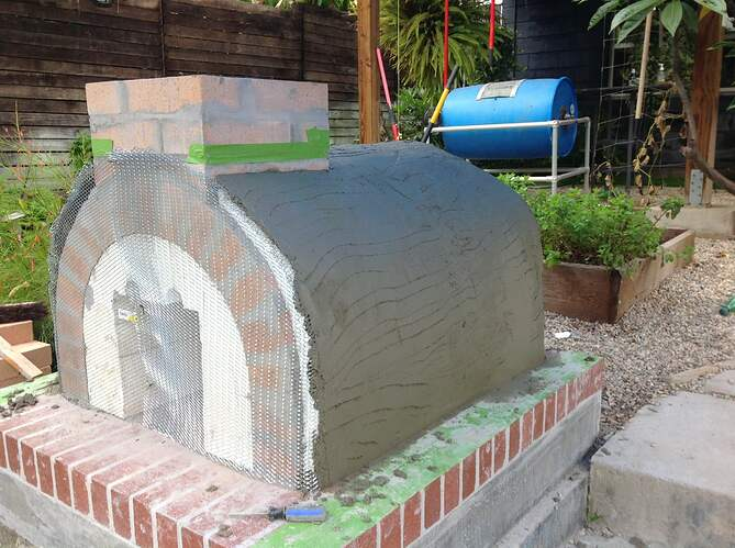 Outdoor Wood Fired Oven (30)