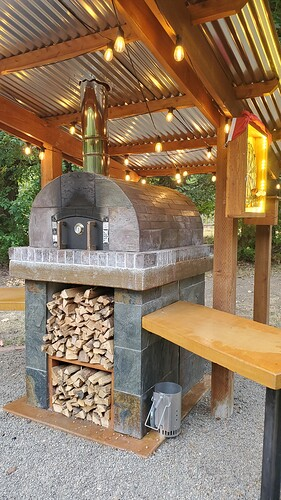 Outdoor Wood Burning Pizza Oven (36)