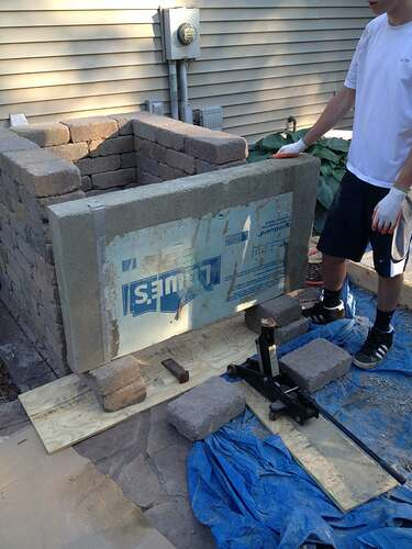 How To Build An Outdoor Brick Oven (44)