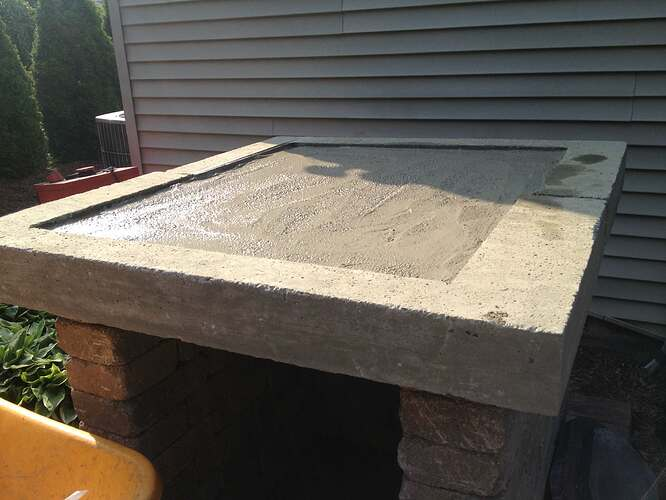 How To Build An Outdoor Brick Oven (54)