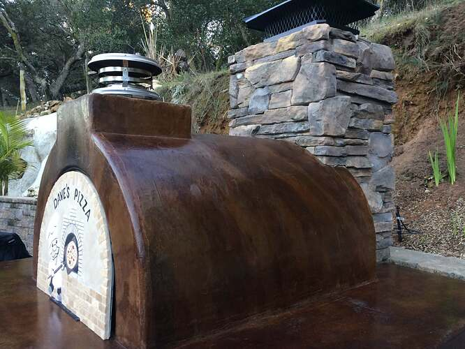 Pizza Oven Over Fireplace (30)