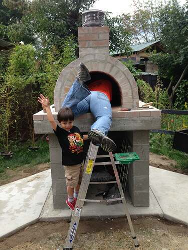 How To Build Pizza Oven (21)