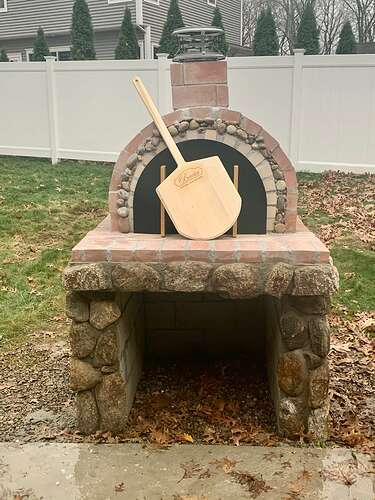 Homemade Wood Fired Pizza Oven