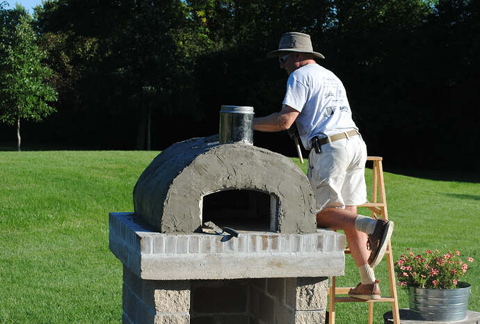 Outdoor Wood Fired Pizza Oven (36)