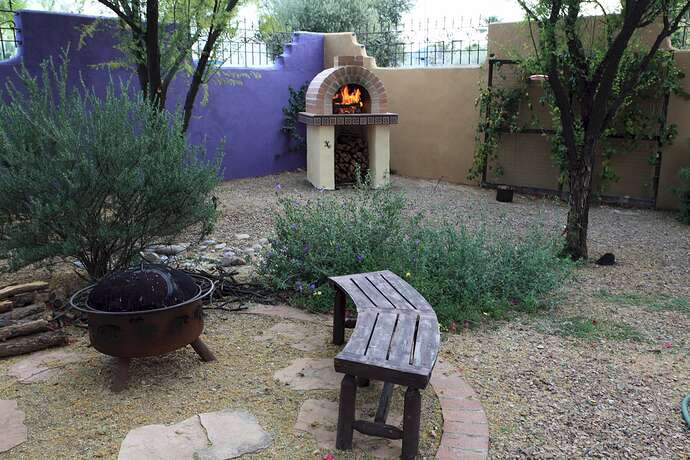 Building a Wood Fired Oven (4)