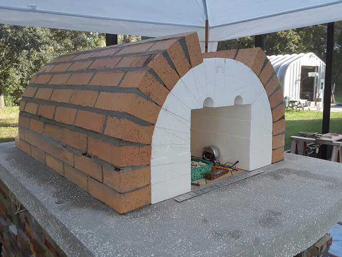 Building A Pizza Oven (106)
