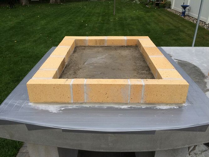Building A Brick Pizza Oven From Scratch (32)