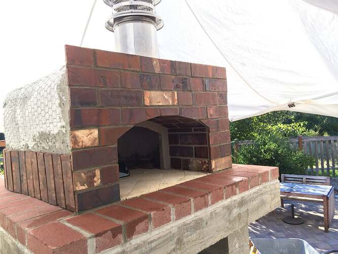 Home Made Pizza Oven (32)