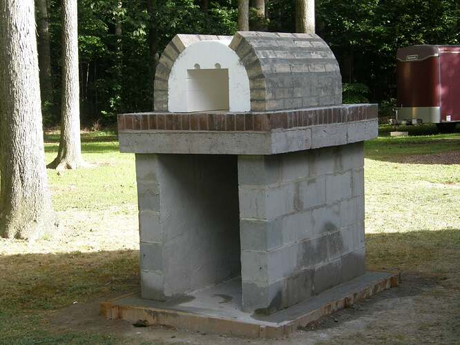 How To Make An Outdoor Pizza Oven (20)