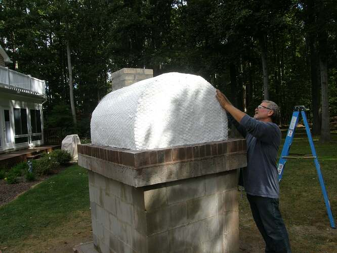 How To Make An Outdoor Pizza Oven (42)
