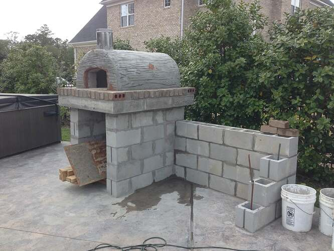 Build A BBQ And Pizza Oven (14)