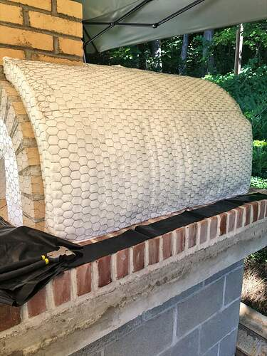 Large Outdoor Wood Burning Pizza Oven (17)